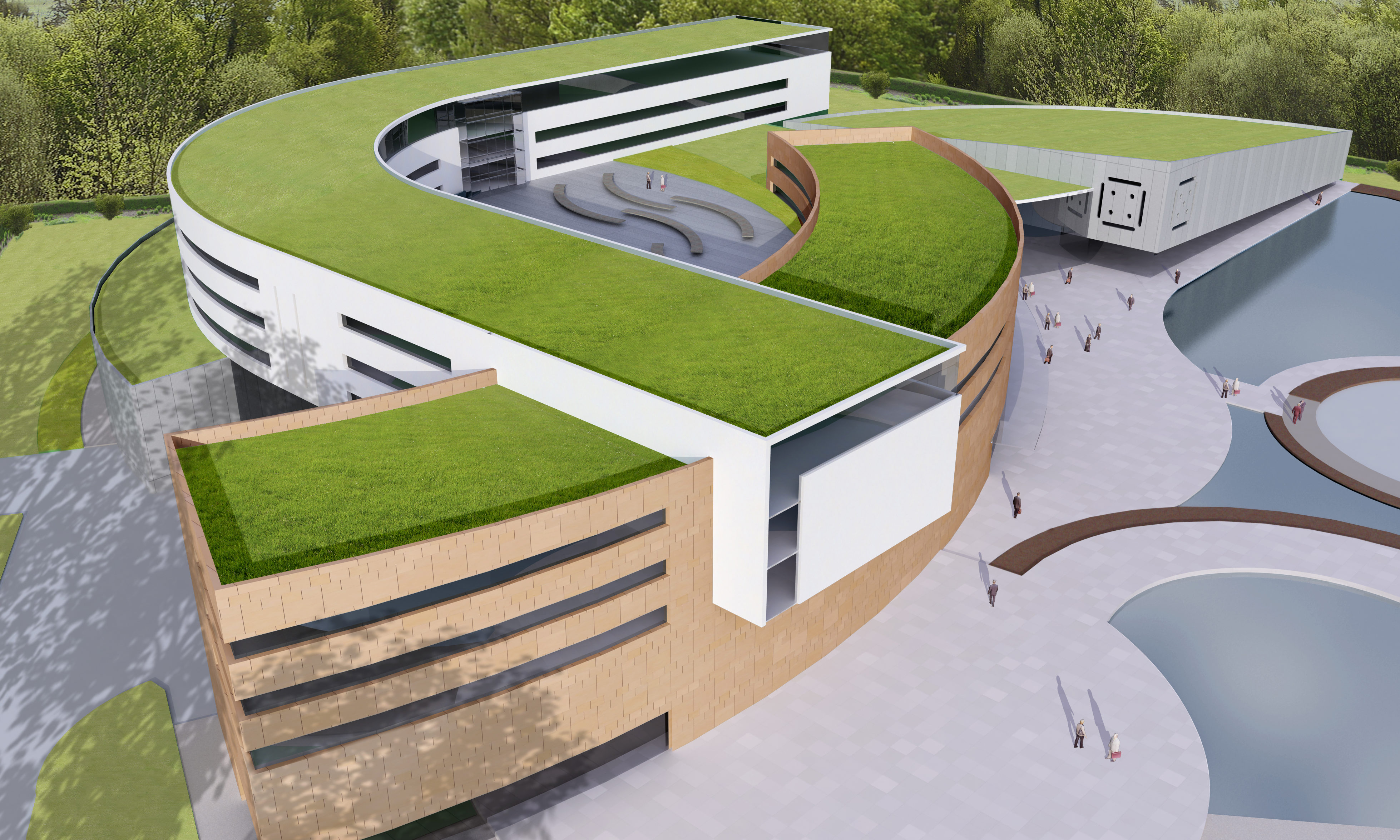 Graphic shows how the Kinfauns Hotel could look