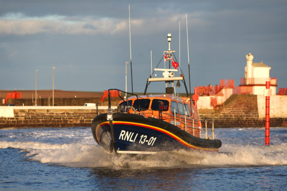 Arbroath Lifeboat.