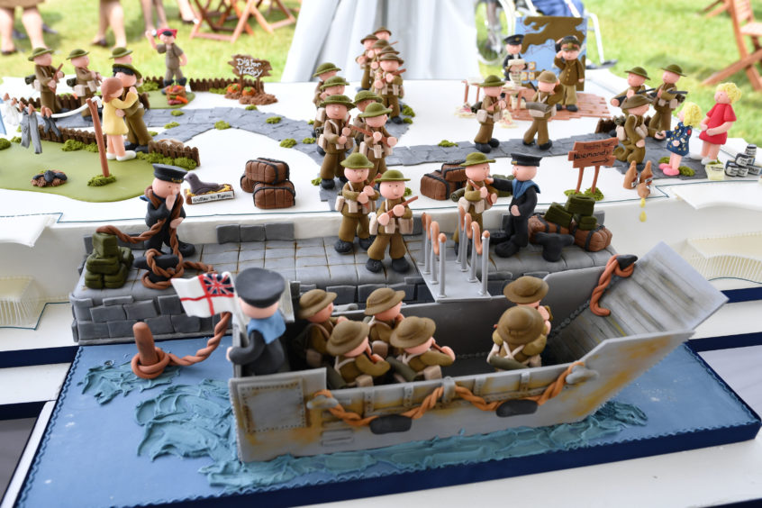 A D-Day themed cake !