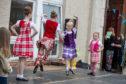 Highland dancers at Methil Gala.