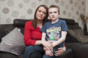 Nicola Pearson and her son Max.
