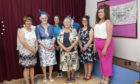 Past members of Girl Guiding in Angus who raised thousands of pounds to build the centre at Ladenford