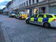Emergency services on Reform Street
