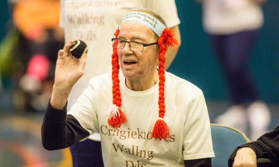 Donald Stevenson from Craigieknowes Care Home in Perth.