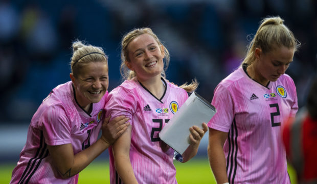 Scotland's women are ready for World Cup challenge.