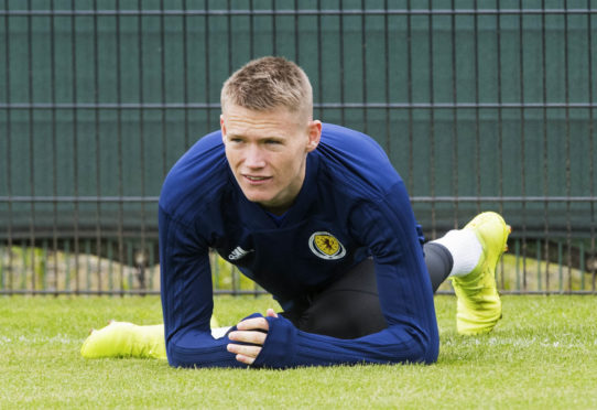 Man United's Scott McTominay is another midfield option for Scotland