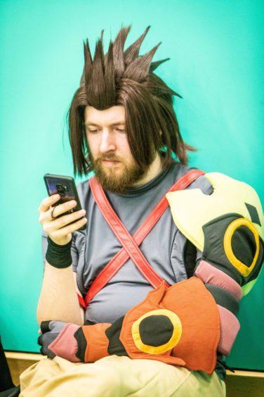Ross Sinclair from Glasgow as Terra (Kingdom Hearts).