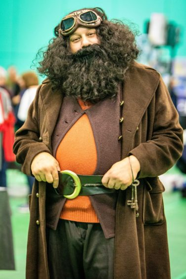 Hagrid from Harry Potter.