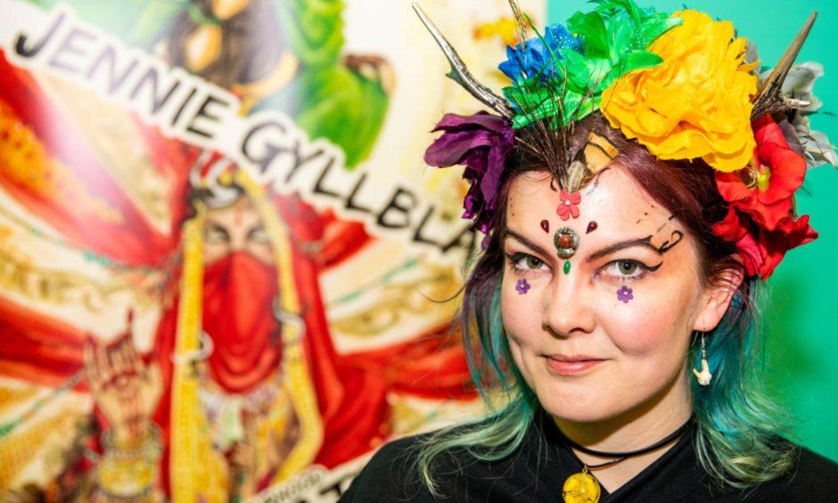 Comic Creator Jennie Gyllblad from Leeds.