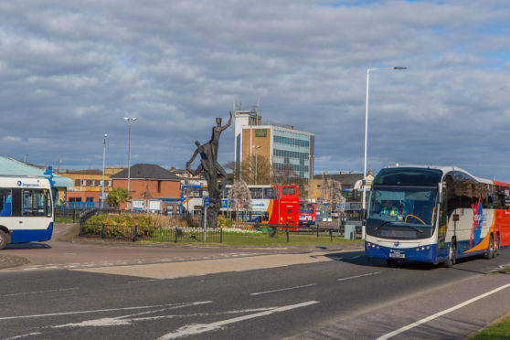 Subsidised passenger transport will be the subject of the new trial in Fife.