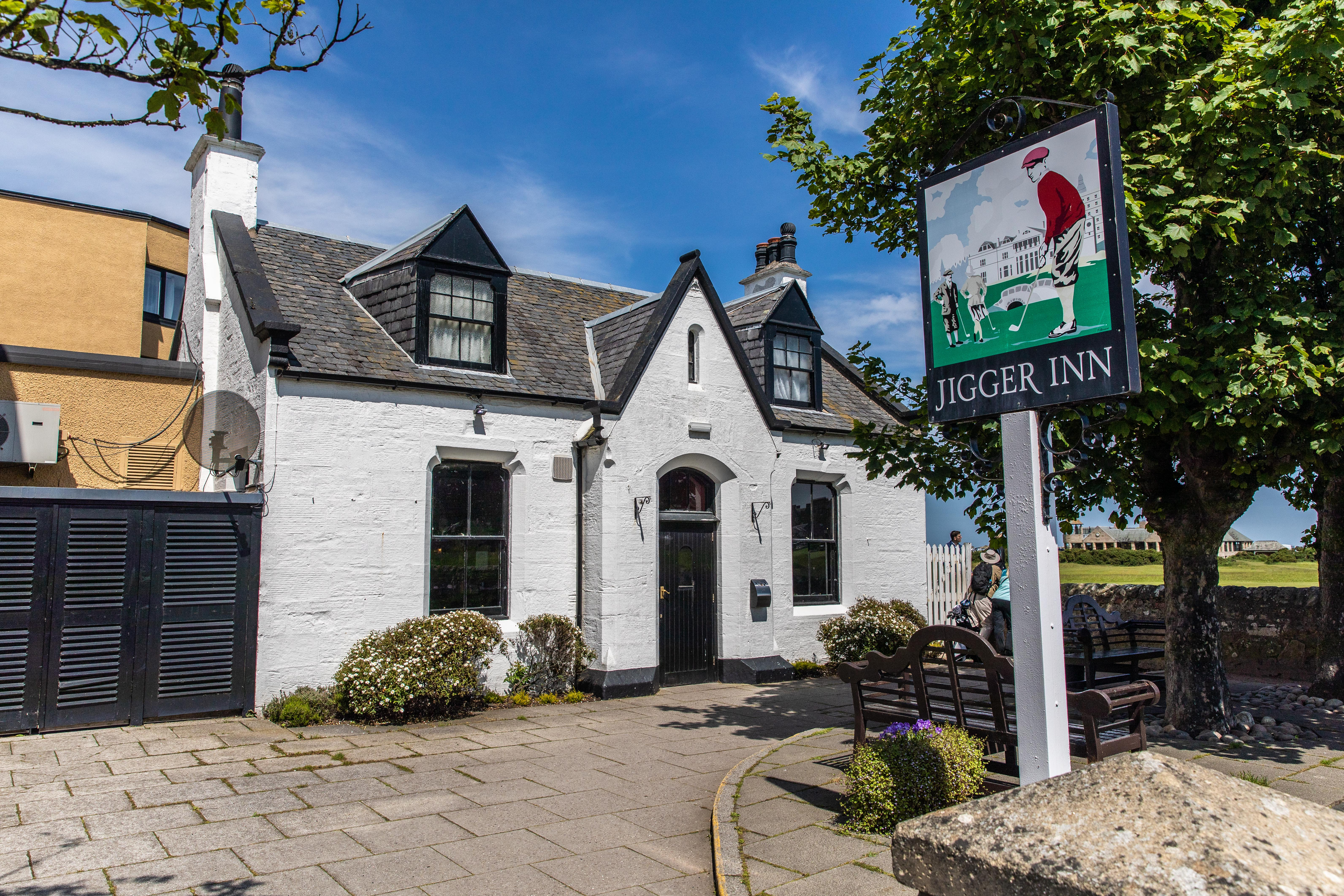 The Jigger Inn in St Andrews.