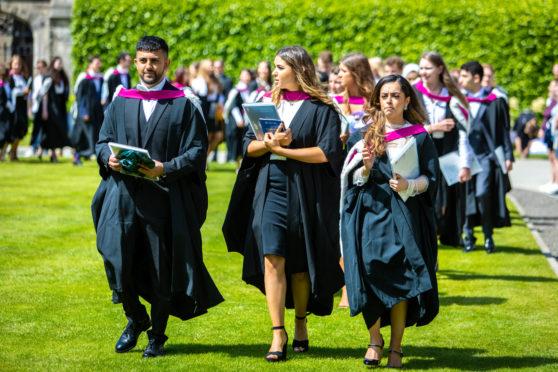 St Andrews Uni students.