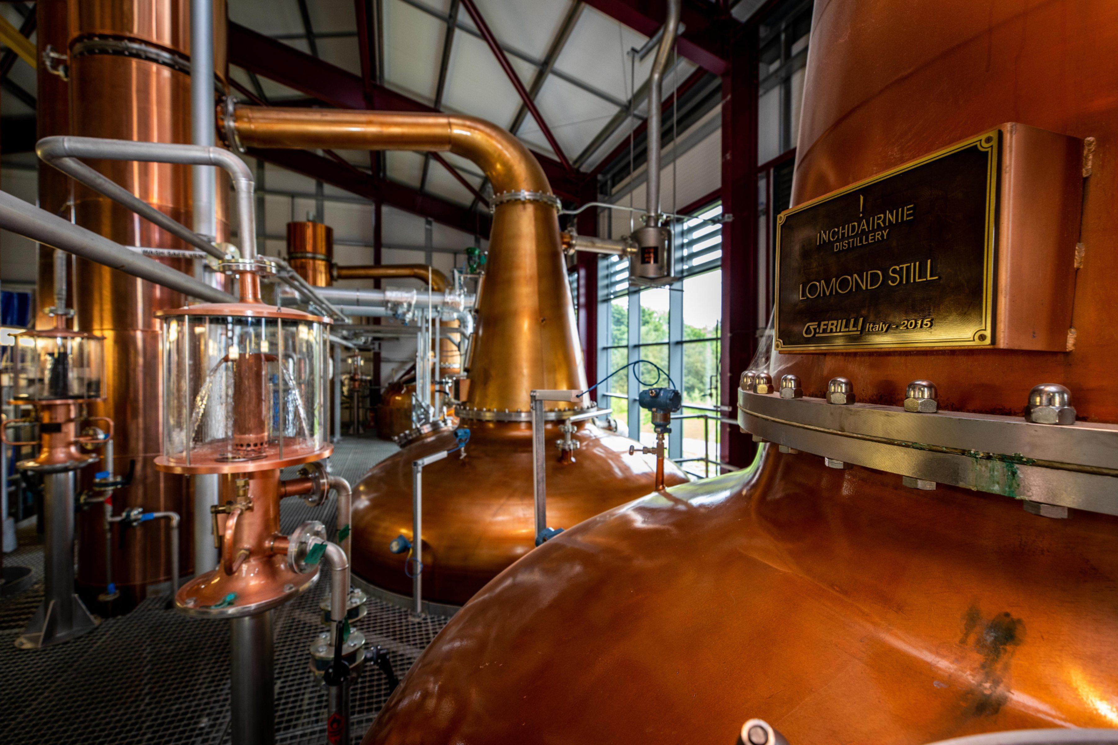 The Lomond Still at Inchdairnie Distillery.