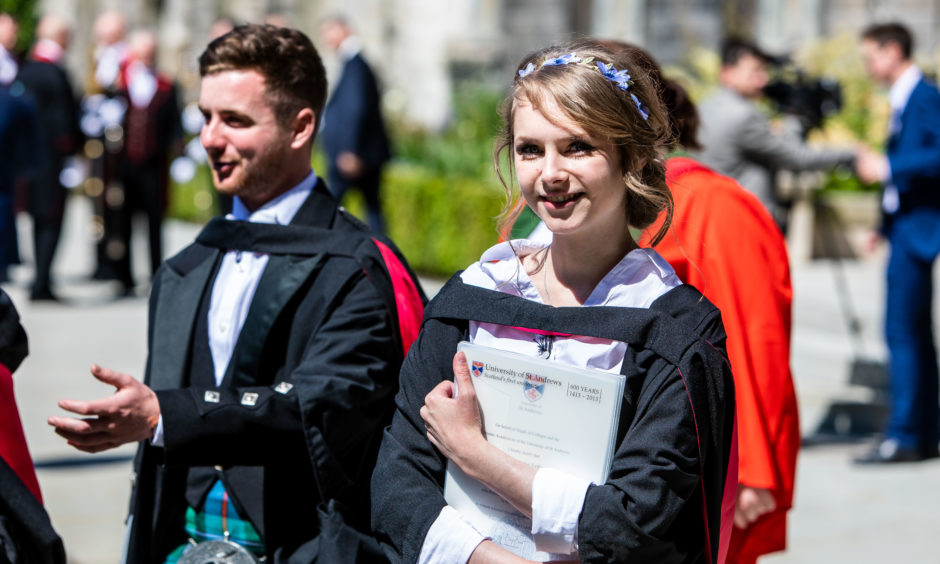 Graduates in subjects including history, classical studies and modern languages received their degrees in Thursday's ceremonies.