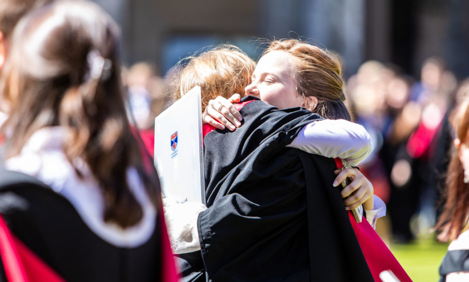 Family and friends were in attendance to watch their loved ones graduate.