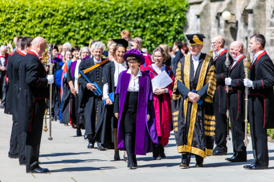 St Andrews University .