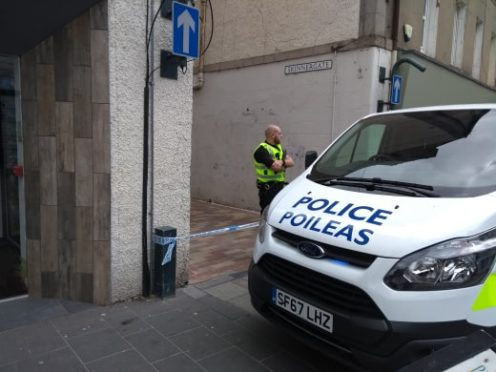 Ongoing incident at Skinnergate in Perth