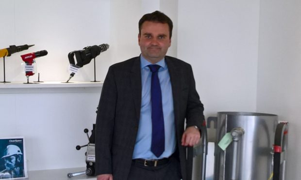 1st Integrated Solutions' managing director Martin Suttie.