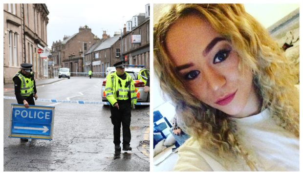 Neomi Smith was found dead in a property on Swan Street, Brechin.