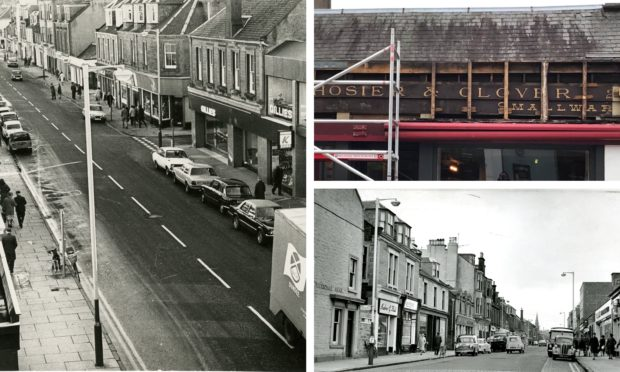 Work has revealed an insight into the history of a Broughty Ferry store.