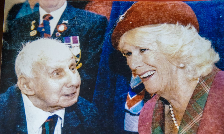 Jimmy Sinclair with Camilla Duchess of Cornwall