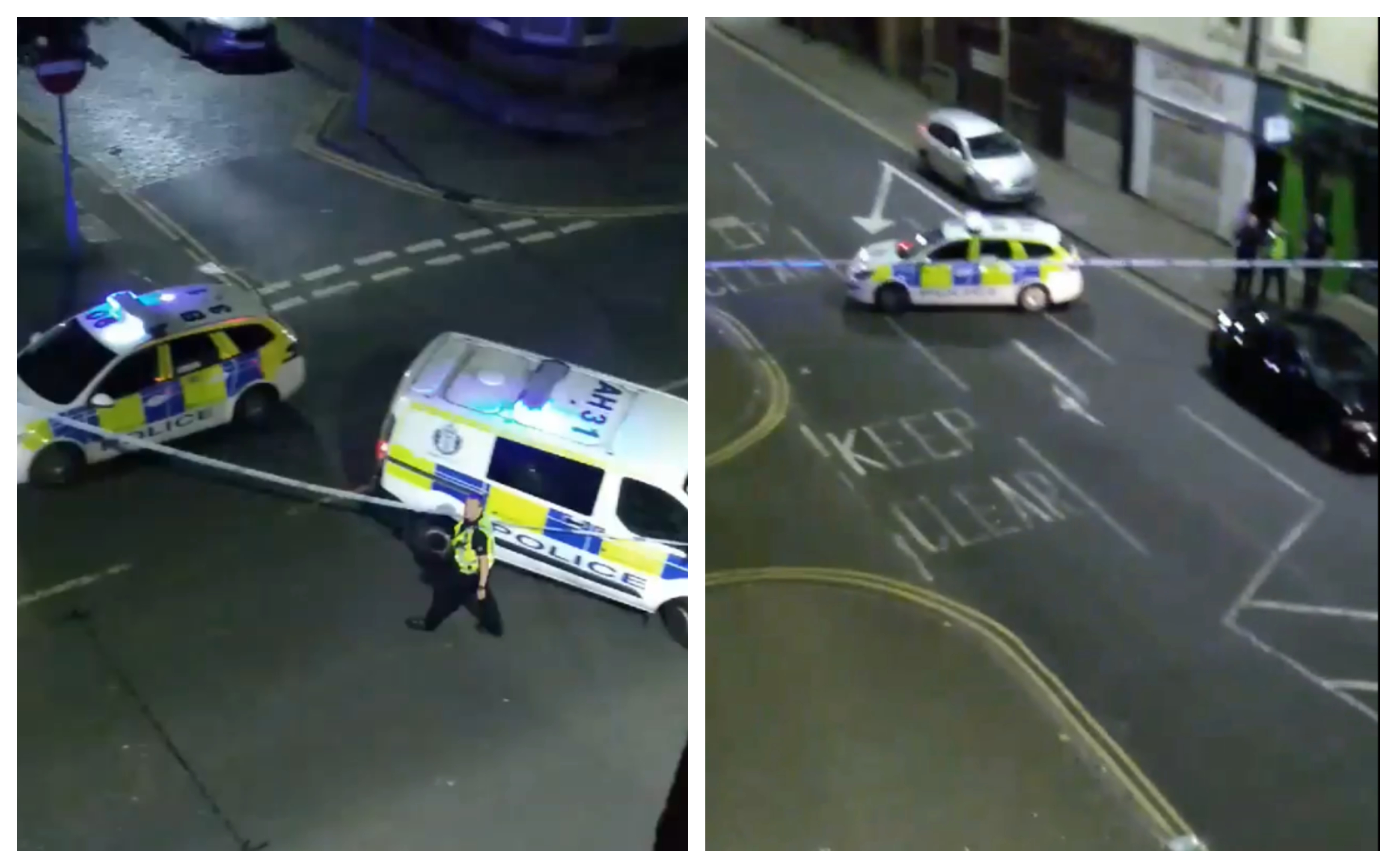 Kinnoull Street, Perth, was closed as police dealt with the incident.