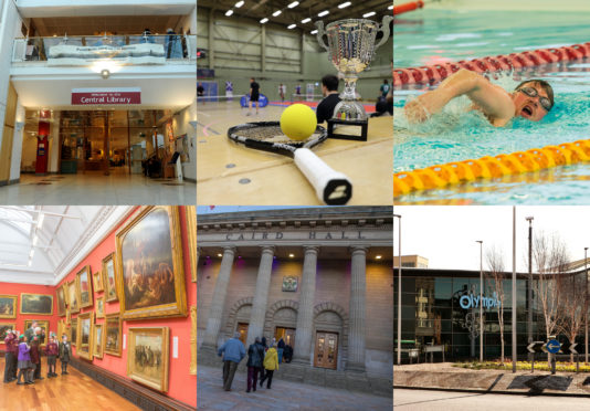 Swimming pools, libraries and other community facilities could close if Leisure and Culture Dundee staff strike.