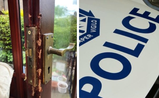 Thieves broke into a number of homes in the Craigie area of Perth.