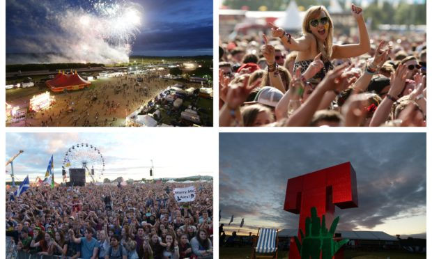 T in the Park was one of the UK's biggest music festivals.