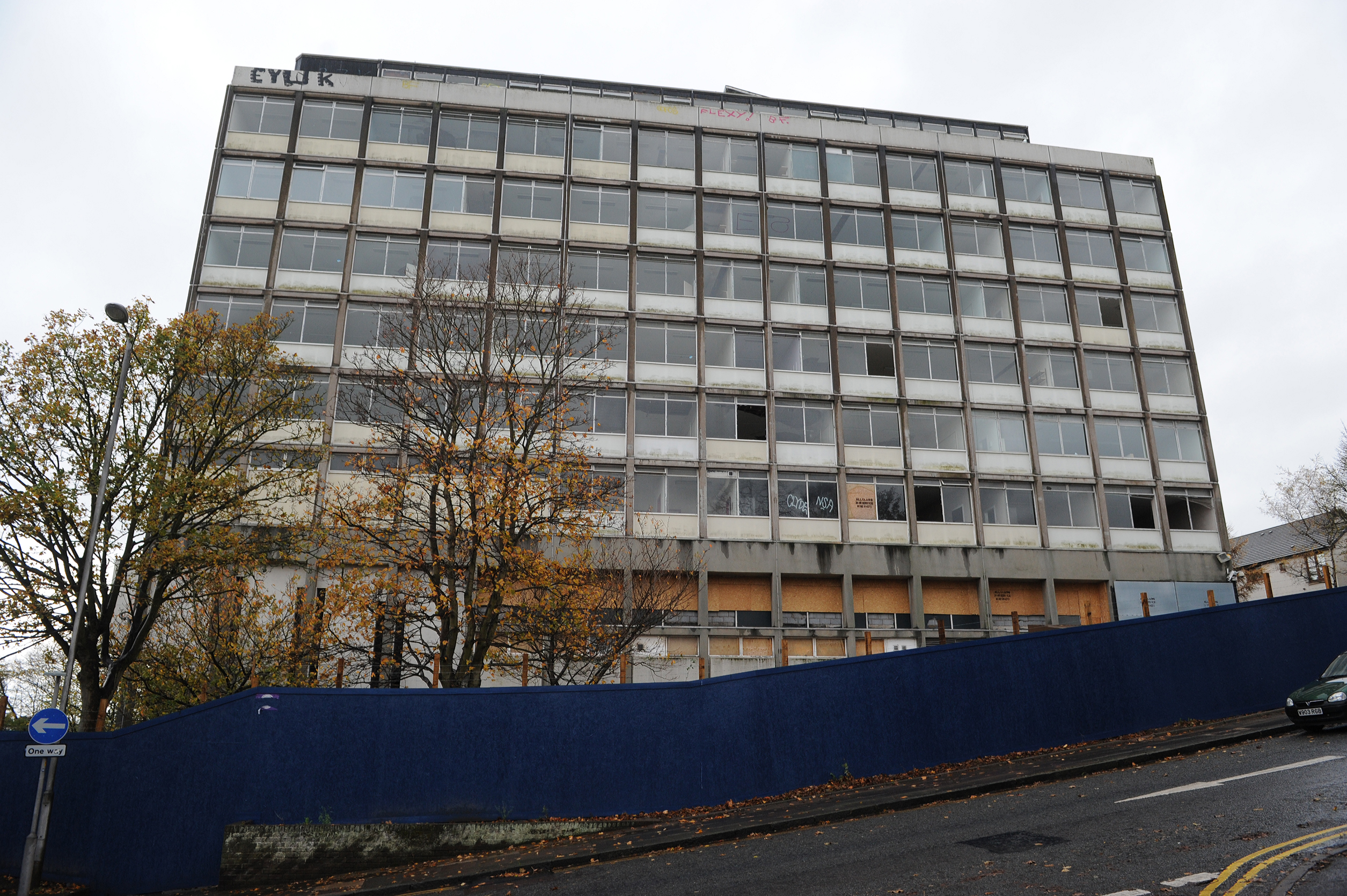The old Dundee College building on Constitution Road, Dundee.