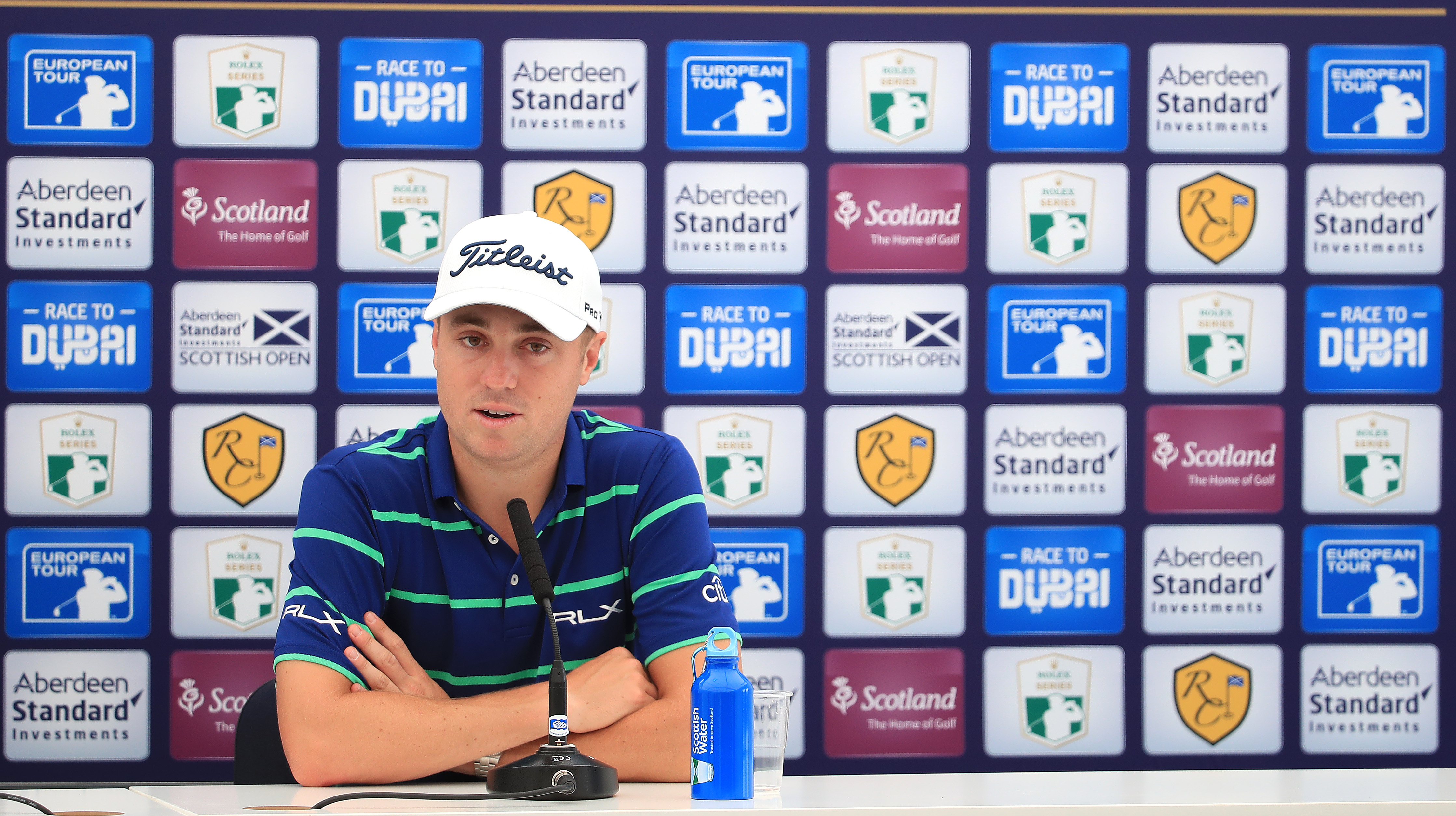 Justin Thomas is playing the Scottish Open at the Renaissance,