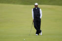 Tiger Woods on the second day at Royal Portrush.
