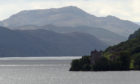 Loch Ness and Urquhart Castle.
