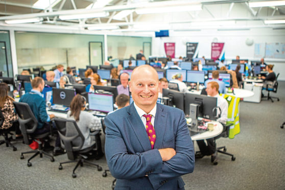John Reynolds, chief executive of Castle Water, which won the Business of the Year prize at last year's Courier Business Awards