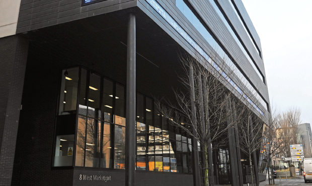 The Alliance Trust building at West Marketgait, Dundee.