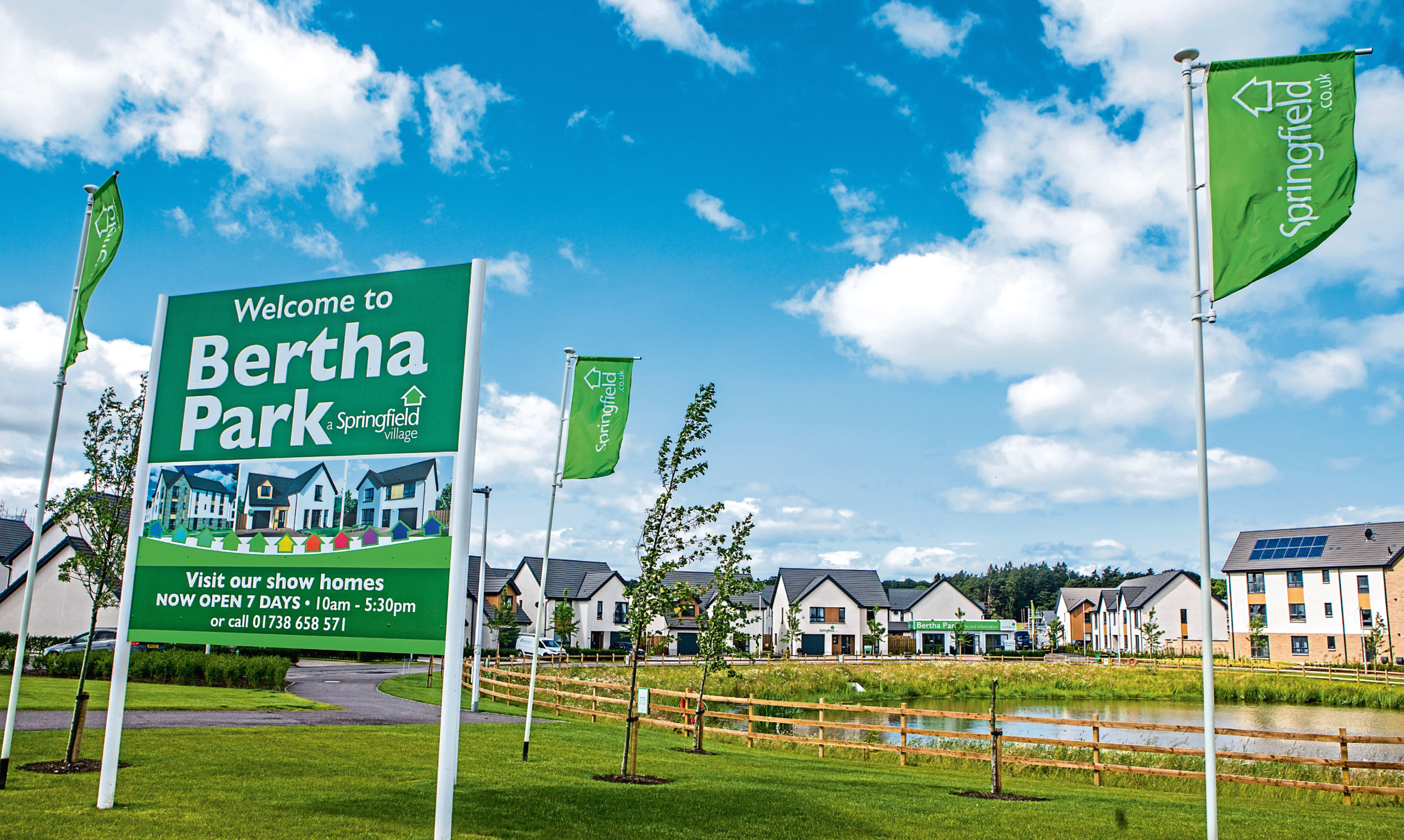 The Bertha Park development in Perth
