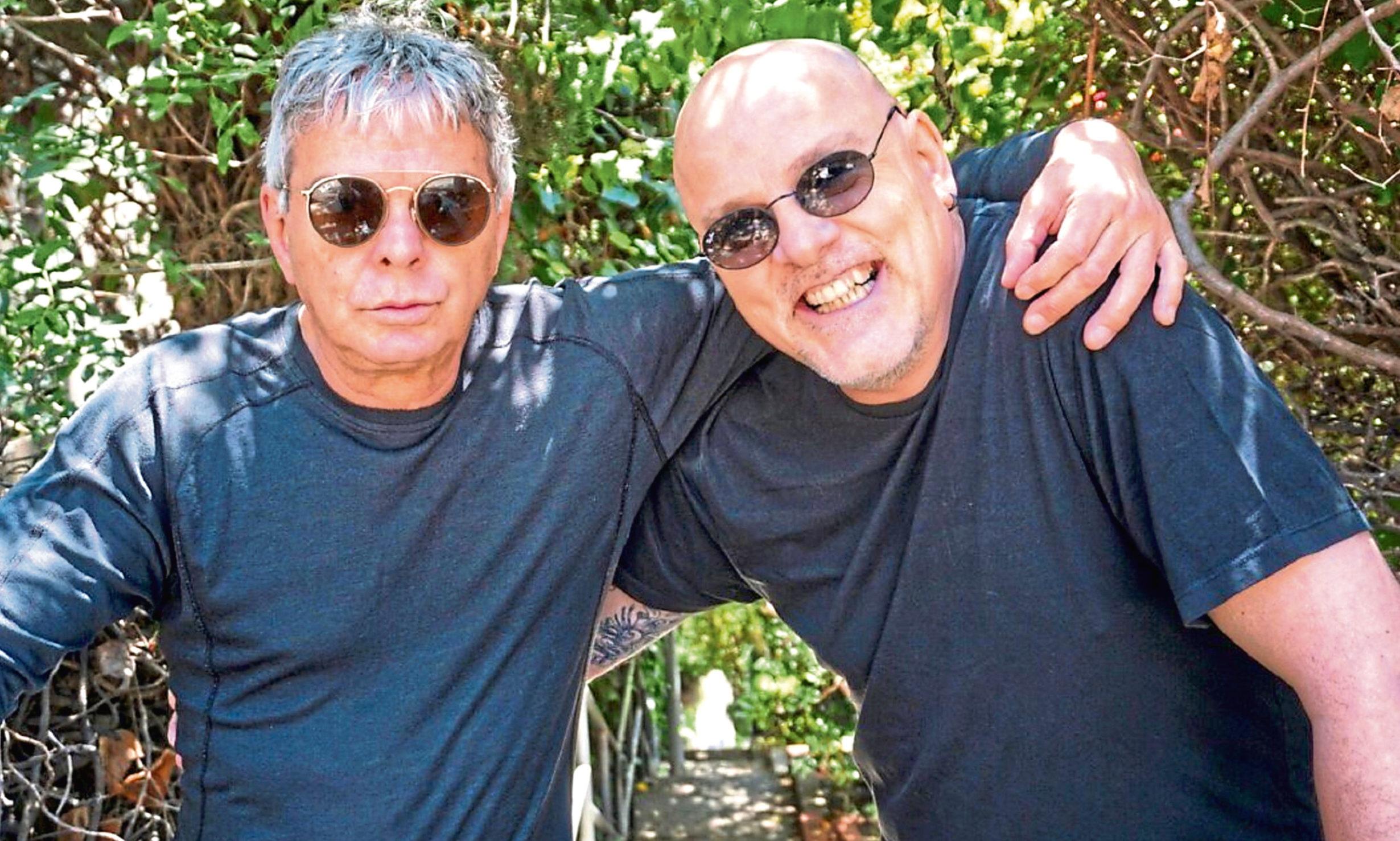 Stranglers duo JJ Burnel and Baz Warne.