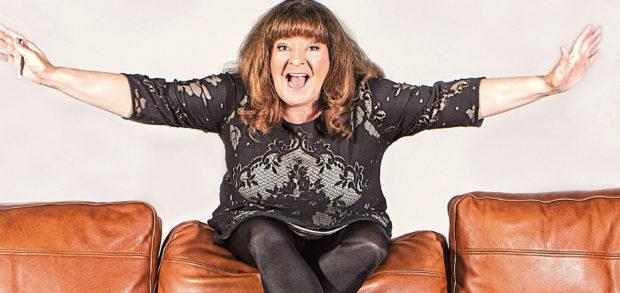 Stand-up comedian Janey Godley