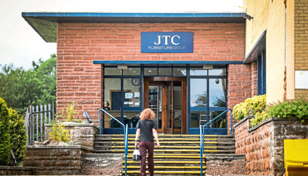 JTC Furniture Group's Dundee facility.