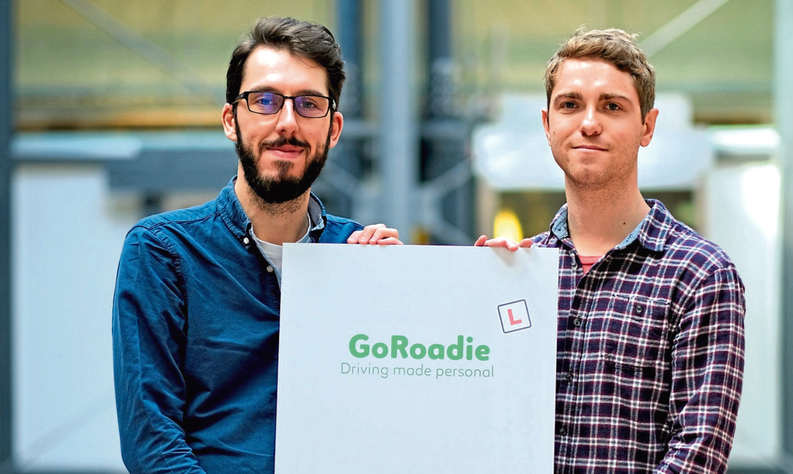 GoRoadie founders Michael Carr and Barry White