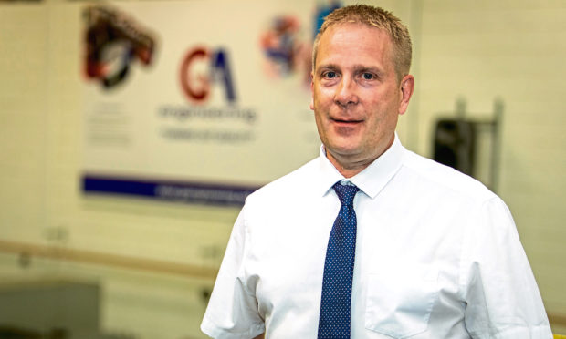 GA Scotland managing director Peter Donnelly
