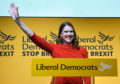 Jo Swinson MP,  leader of the Liberal Democrats.