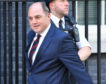 Defence Secretary Ben Wallace arrives at 10 Downing Street on July 25, 2019