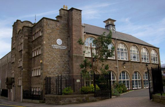 Al Maktoum College in Dundee.