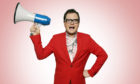 Alan Carr will perform at Inchyra Arts Club on October 23.