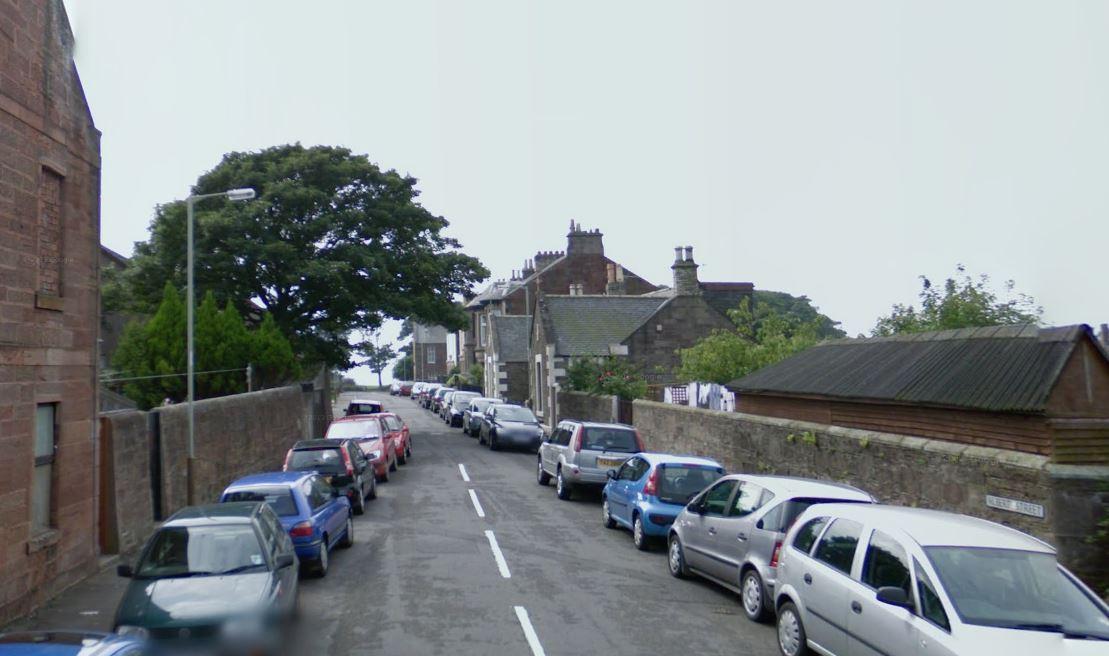 Albert Street, Arbroath (stock image)