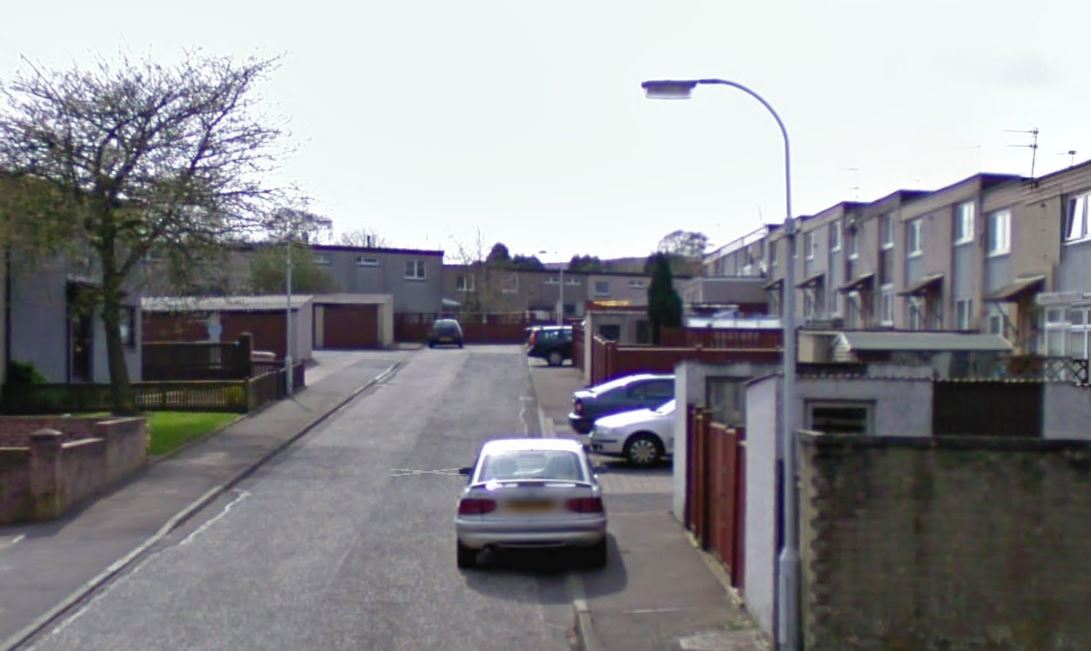 Ancrum Court, Glenrothes (stock image)