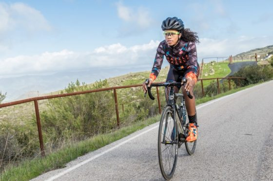 Ayesha McGowan is an advocate for diversity in cycling.
