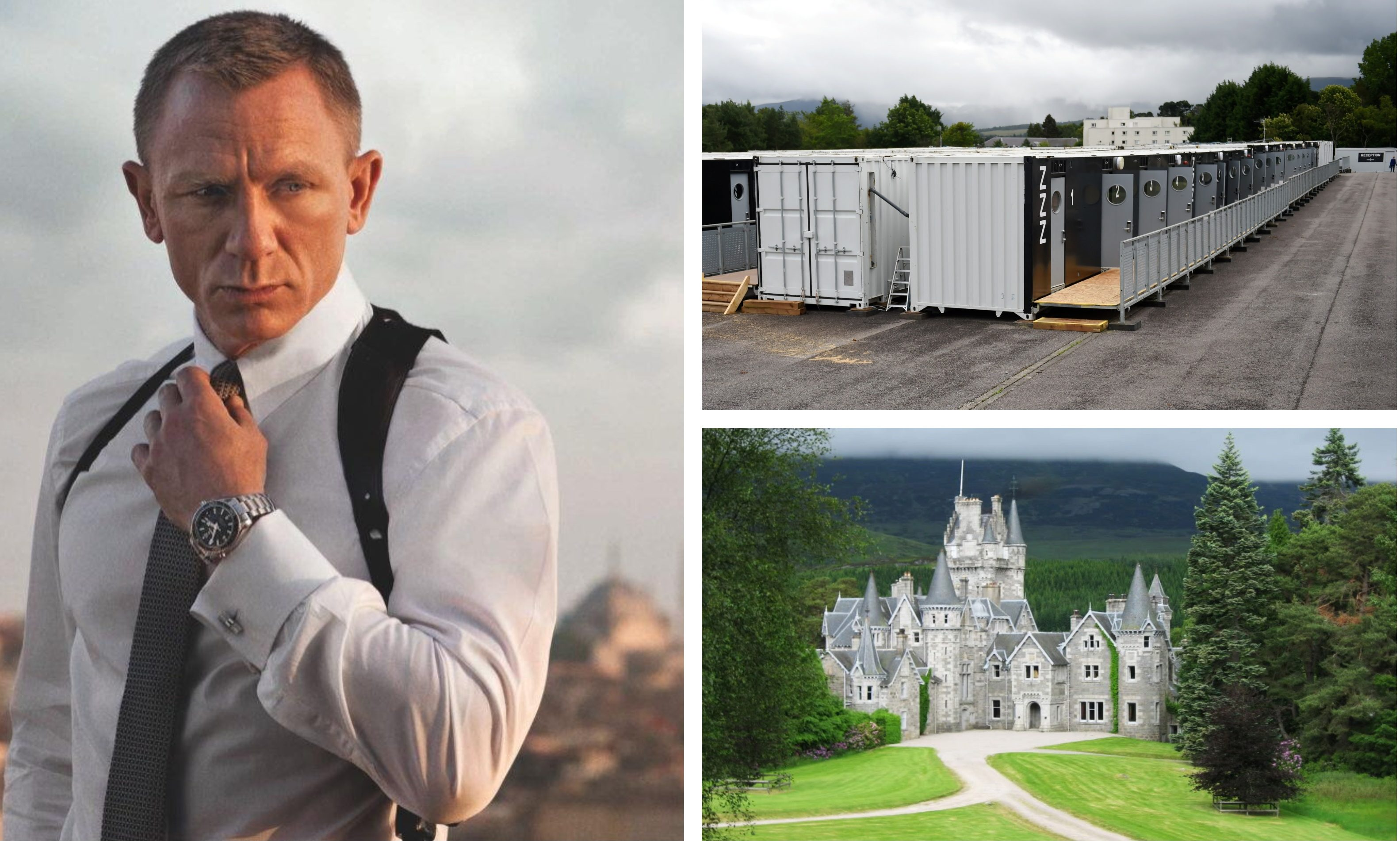 Filming on Bond 25 is said to be under way in the Highlands.