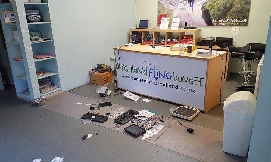 The Highland Fling centre in Killiecrankie was raided on Friday morning.
